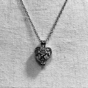 18 Kgp Locket Necklace